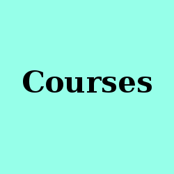 For prospective students: Courses